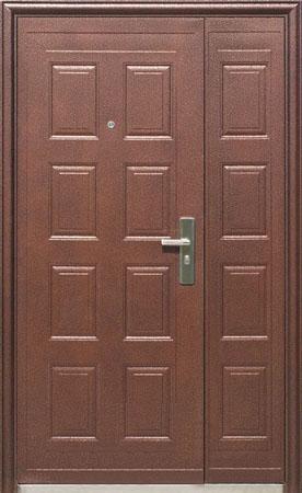 Стальная дверь Большие двери Модель - Д-108