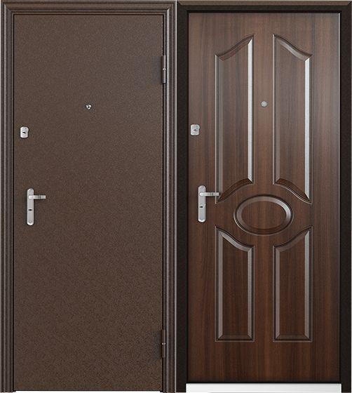 Стальная дверь Torex ULTRA M7 Медный антик / СК-3 Венге
