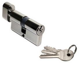 Ключевой цилиндр Morelli 60CK BN