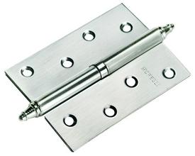 Петля стальная разъёмная с короной Morelli  MS 100X70X2.5 SN