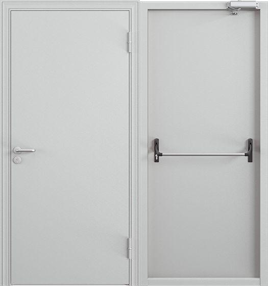 противопожарные двери металлические в г москва