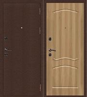 Стальная дверь Стандарт Антик Медь Классика дуб золотистый