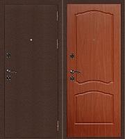 Стальная дверь Стандарт Антик Медь Классика итальянский орех