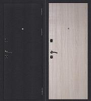 Стальная дверь Стандарт Антик Серебро Гладкая эш