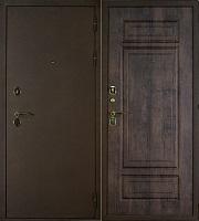 Стальная дверь Брауни дуб мореный