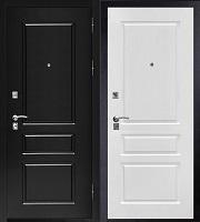 Стальная дверь Честер белый