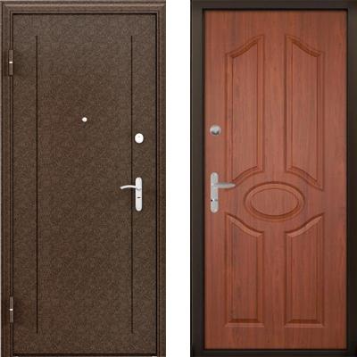 Стальная дверь Torex ULTRA M7 Медный антик / СК-1 Орех Норд