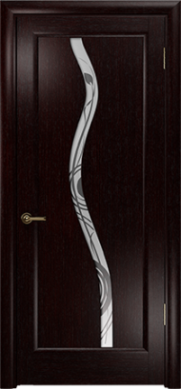 Арт Деко Элегант Лютэа–Z венге ПО с рисунком «Фантазия»