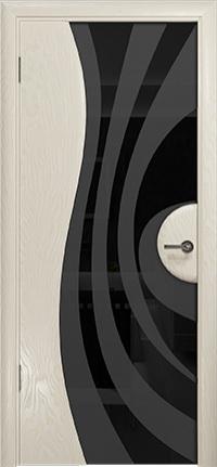 Арт Деко Стайл Ветра-1 аква триплекс черный с рисунком
