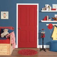 Межкомнатная дверь красная