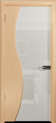 Арт Деко Стайл Ветра-3 беленый дуб триплекс белый