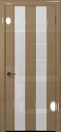 Арт Деко Vatikan Premium Глянец Амалия-2  бежевый глянец триплекс кипельно-белый