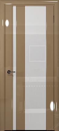 Арт Деко Vatikan Premium Глянец Спациа-5  бежевый глянец триплекс кипельно-белый