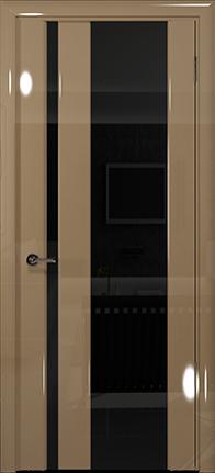 Арт Деко Vatikan Premium Глянец Спациа-5  бежевый глянец триплекс черный