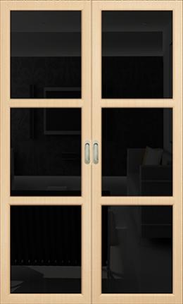 Арт Деко Vatikan Premium Трио беленый дуб триплекс черный