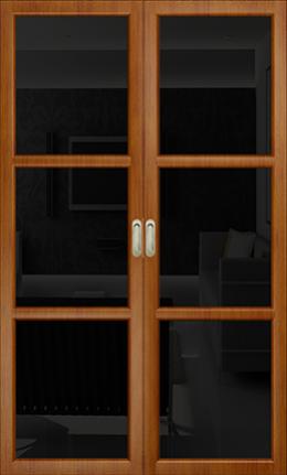 Арт Деко Vatikan Premium Трио темный анегри триплекс черный