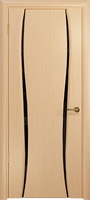 Арт Деко Стайл Лиана-2 беленый дуб триплекс черный