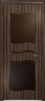 Арт Деко Стайл Луника-6 эбен стекло тонированное
