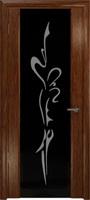 """Арт Деко Стайл Спация-3 сукупира триплекс черный с рисунком """"Балерина"""""""