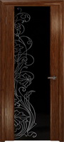 Арт Деко Стайл Спация-3 сукупира триплекс черный с рисунком cо стразами