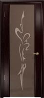 """Арт Деко Стайл Спация-3 венге триплекс тонированный с рисунком """"Балерина"""""""