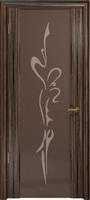 """Арт Деко Стайл Спация-3 эбен триплекс тонированный с рисунком """"Балерина"""""""