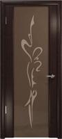 """Арт Деко Стайл Спация-3 эвкалипт триплекс тонированный с рисунком """"Балерина"""""""