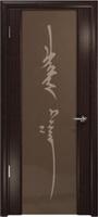 Арт Деко Стайл Спация-3 эвкалипт триплекс тонированный с рисунком «Чингизхан»