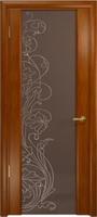 Арт Деко Стайл Спация-3 анегри темный триплекс тонированный с рисунком cо стразами