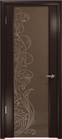 Арт Деко Стайл Спация-3 эвкалипт триплекс тонированный с рисунком cо стразами