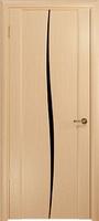 Арт Деко Стайл Спация Лепесток беленый дуб триплекс черный