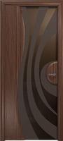 Арт Деко Стайл Ветра-1 орех американский триплекс тонированный с рисунком