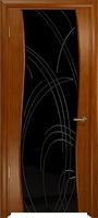 Арт Деко Стайл Вэла анегри темный триплекс черный с гравировкой