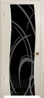 Арт Деко Стайл Вэла аква триплекс черный с рисунком