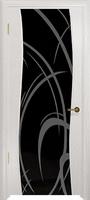 Арт Деко Стайл Вэла беленый дуб триплекс черный с рисунком