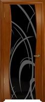 Арт Деко Стайл Вэла анегри темный триплекс черный с рисунком