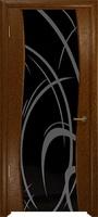 Арт Деко Стайл Вэла терра триплекс черный с рисунком