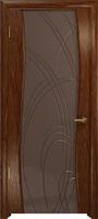 Арт Деко Стайл Вэла сукупира триплекс тонированный с гравировкой