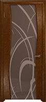 Арт Деко Стайл Вэла терра триплекс тонированный с рисунком