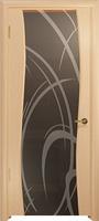 Арт Деко Стайл Вэла ясень белый триплекс мокко с рисунком