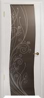 Арт Деко Стайл Вэла беленый дуб триплекс мокко с рисунком со стразами