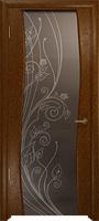 Арт Деко Стайл Вэла терра триплекс мокко с рисунком со стразами