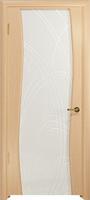 Арт Деко Стайл Вэла ясень белый триплекс белый с гравировкой
