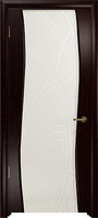 Арт Деко Стайл Вэла венге триплекс белый с гравировкой