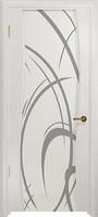 Арт Деко Стайл Вэла беленый дуб триплекс белый с рисунком