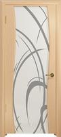 Арт Деко Стайл Вэла ясень белый триплекс кипельно белый с рисунком