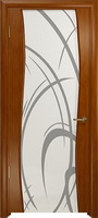 Арт Деко Стайл Вэла анегри темный триплекс белый с рисунком