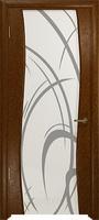 Арт Деко Стайл Вэла терра триплекс белый с рисунком