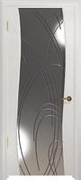 Арт Деко Стайл Вэла беленый дуб зеркало с гравировкой