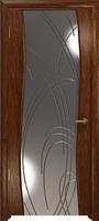 Арт Деко Стайл Вэла сукупира зеркало с гравировкой